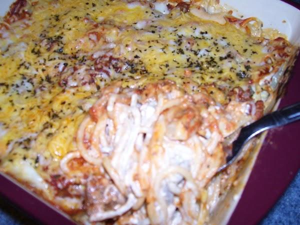 Yummy Spaghetti Casserole! Recipe
