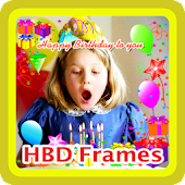 Happy Birthday Greeting Frames