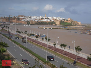Photo: Rabat... you can see from this point the Kasbah and the Hassan Tower
