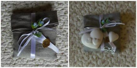 Photo: Portaconfetti in lino