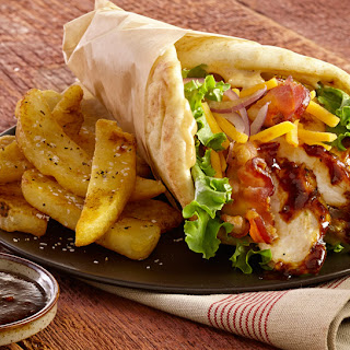 Smoky Chicken Wraps