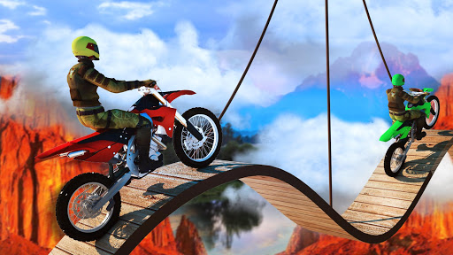Mad Bike Stunts Free: Skill New Game - screenshot