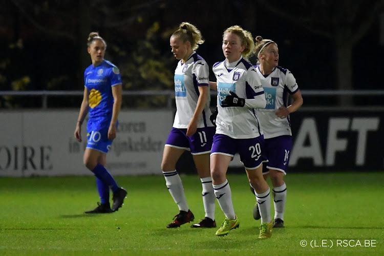 Super League: Anderlecht wint topper bij Gent