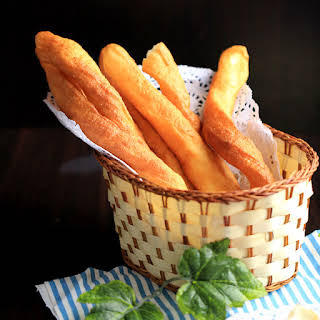 Youtiao (Chinese Oil Stick)-Chinese Cruller.