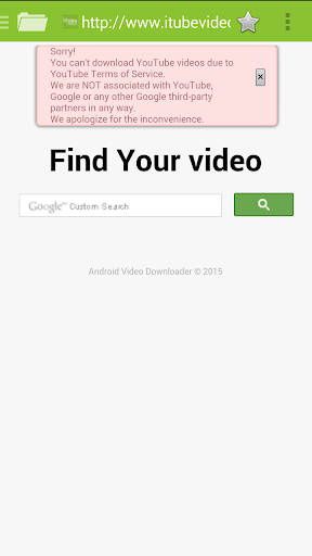 iTube videos HD
