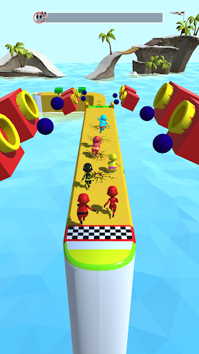 Sea Race 3D - Fun Sports Game Run 3D  screenshots 5