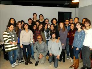 Photo: Alumnos del seminario en Forlì
