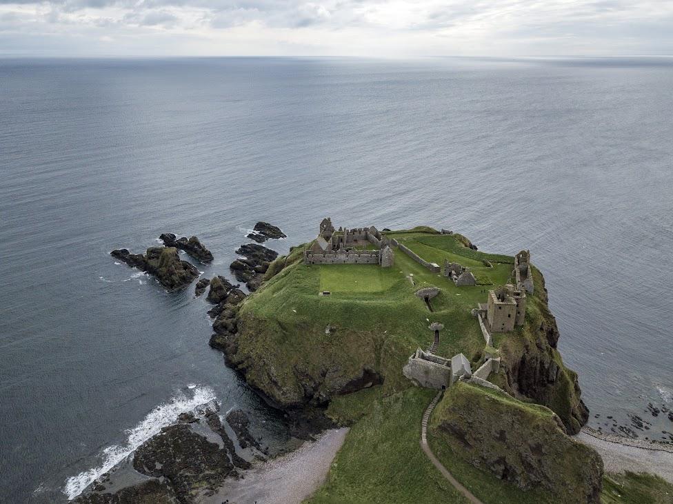 szkockie zamki, Dunnottar Castle, Szkocja