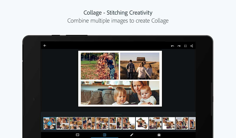Adobe Photoshop Express:Photo Editor Collage Maker Screenshot 11