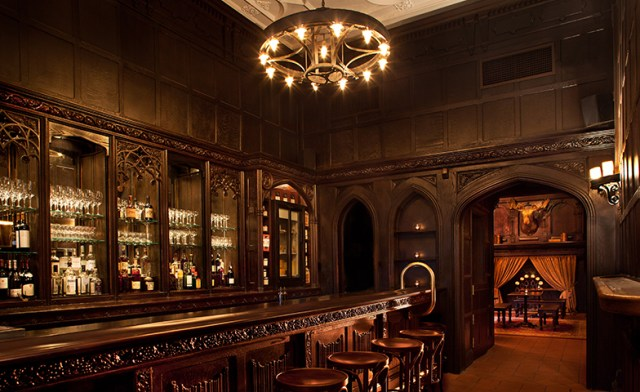 Old world charm at the bar inside Ordinary. Photo: Ordinary New Haven.