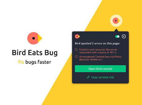 Bird Eats Bug: Screen Recording + Error Logs