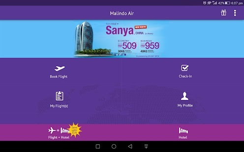 Malindo Air- screenshot thumbnail
