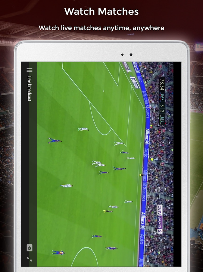 SuperSoccer TV- screenshot
