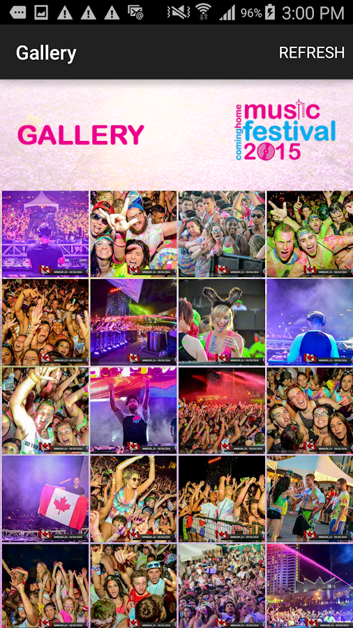 CHMF 2015 - Life in Color Tour- screenshot
