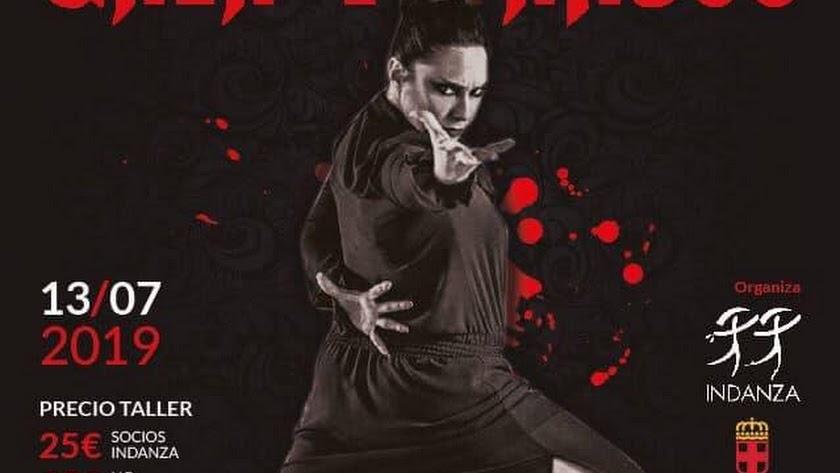 Cartel de la Master Class de Flamenco y Danza