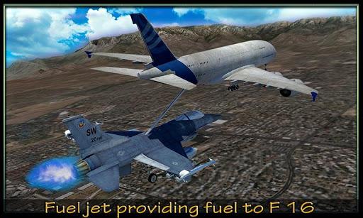 F16空中加油