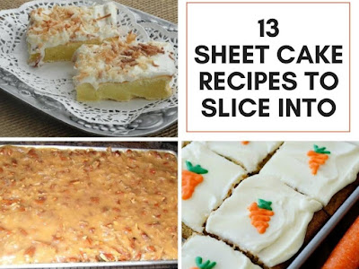 13 Sheet Cake Recipes You Want to Slice Into