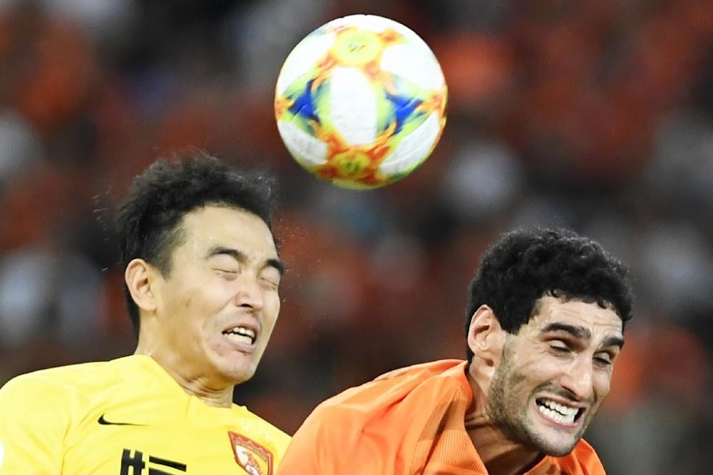 Marouane Fellaini is first coronavirus case in Chinese Super League - TimesLIVE