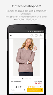 BAUR Mode Wohnen Shopping App- screenshot thumbnail
