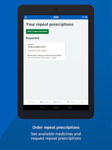 NHS App screenshot 10