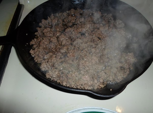 In a large skillet, over medium-high heat, cook the ground beef and onion until...