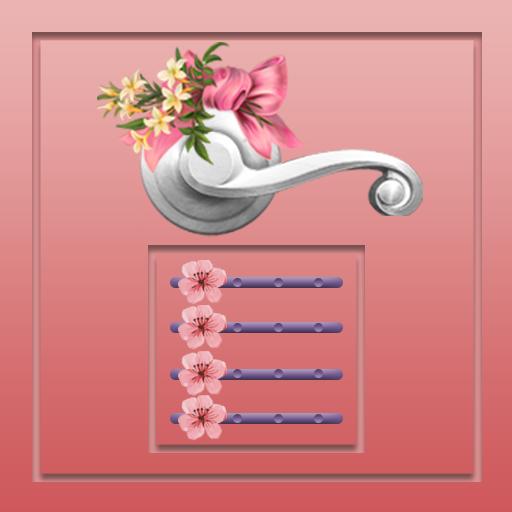 Flower Door Lock - Screen Lock Android APK Download Free By A2x Studio