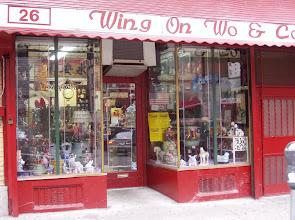 Photo: to Chinatown, where we met