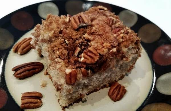 Pecan Pleasin Coffee Cake ~ Recipe