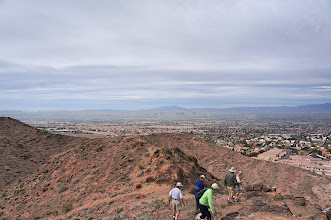 Photo: View of Las Vegas looking west from Frenchman Mountain.