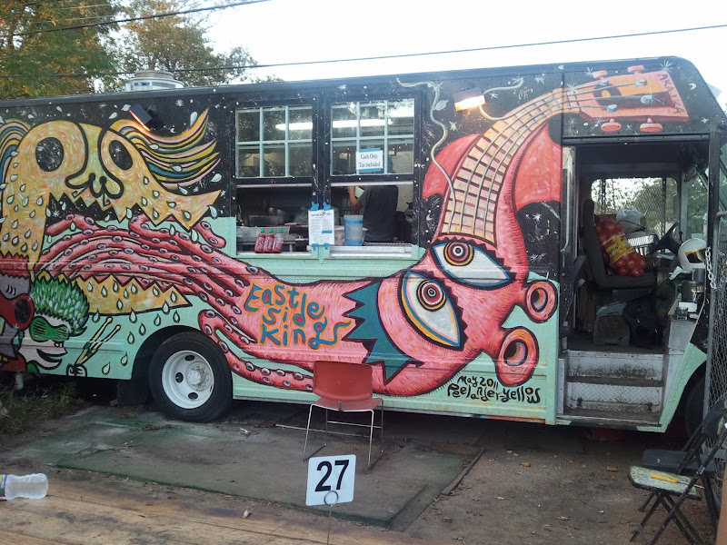 Photo: The original ESK truck at Liberty Bar.