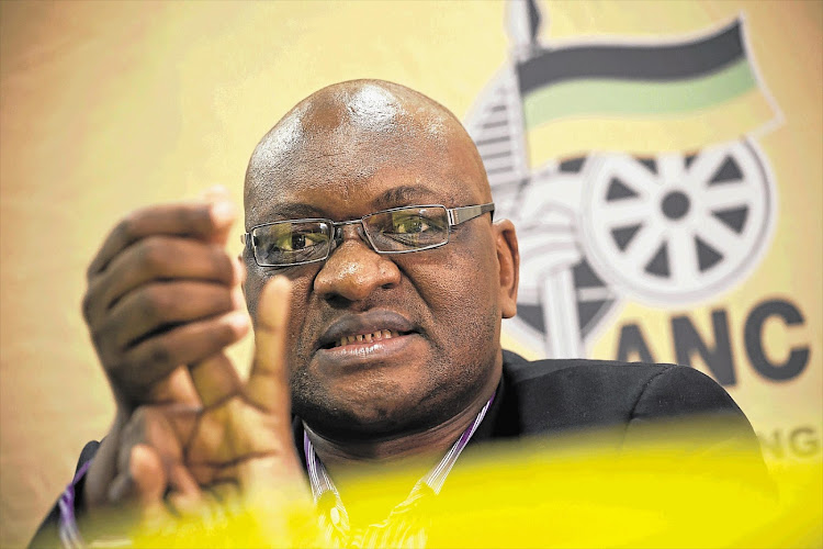 David Makhura is the new ANC chairman in the province.