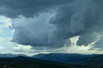 Photo: De gros nuages le samedi
