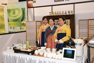 Photo: Our nice show neighbors, Korean Hankook Tea.
