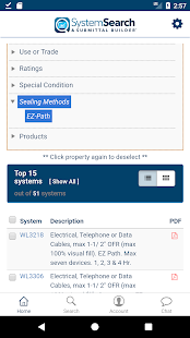 STI System Search - náhled