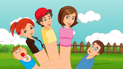 Rompecabezas La familia dedos