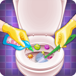 bathroom cleaning games bathroom cleaning toilet android apps on play 10082