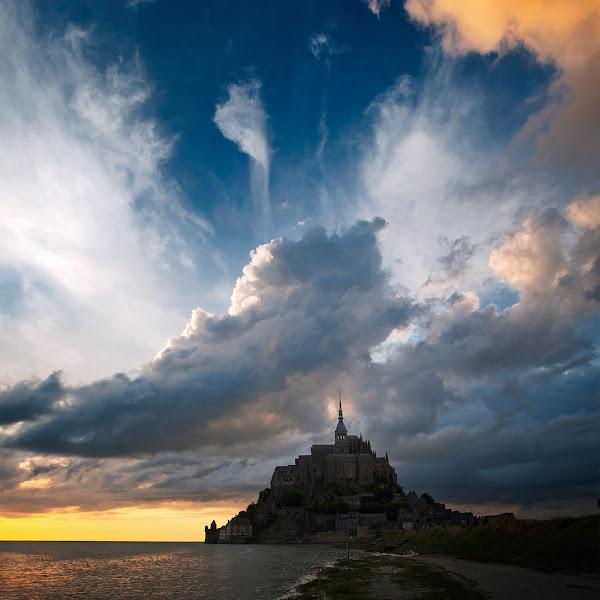 Photo: Mont Saint-Michel / Colour