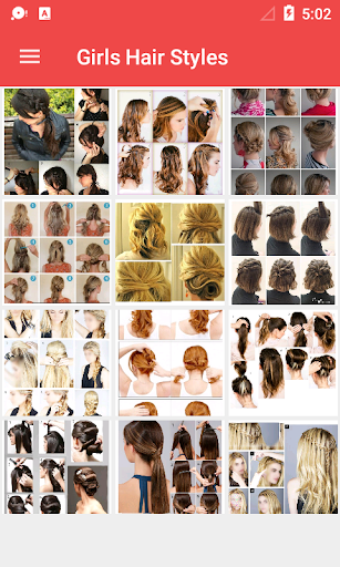 Girls Hairstyle Step by Step 1.0.4 screenshots 1