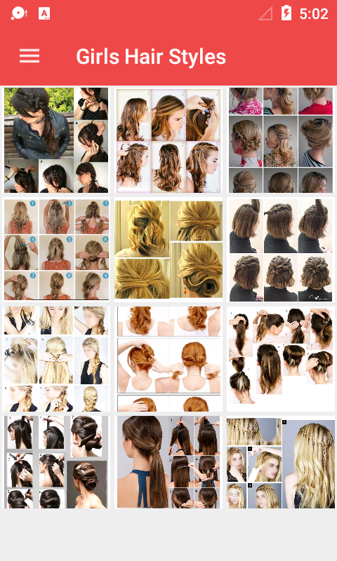 Girls Hairstyle Step by Step- screenshot