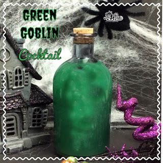 Ghoulish Halloween Cocktail.