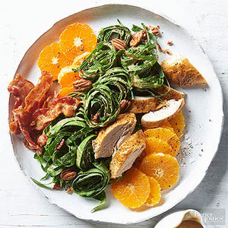 Pecan & Collard Chicken Salad