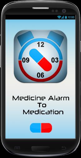 Medcine Alarm To Medication