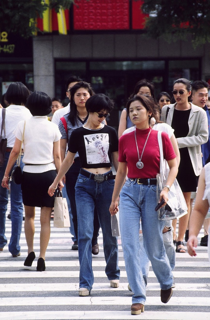 18 forgotten fashion trends all '90s koreans were obsessed
