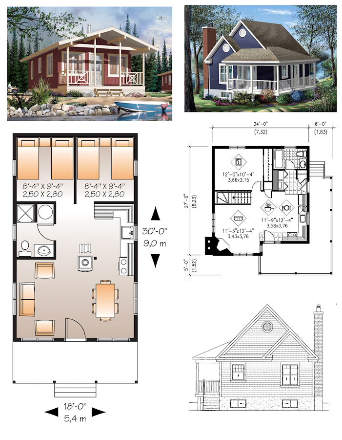 tiny house plans screenshot - Tiny House Plans