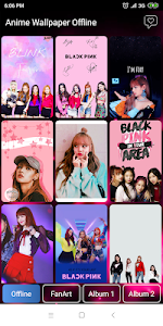 Black Pink Wallpaper - All Member 5.0