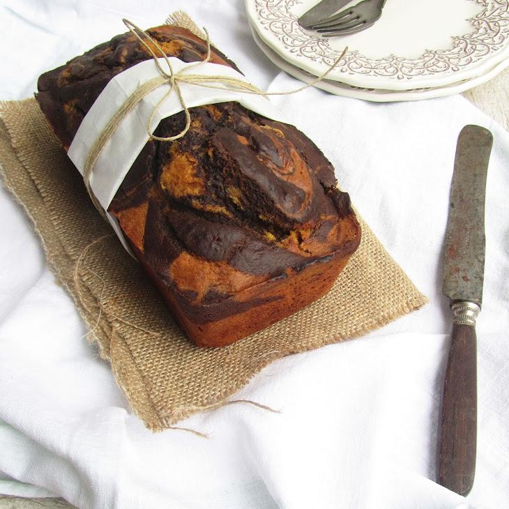 Pumpkin Cocoa Swirl Cake Recipe