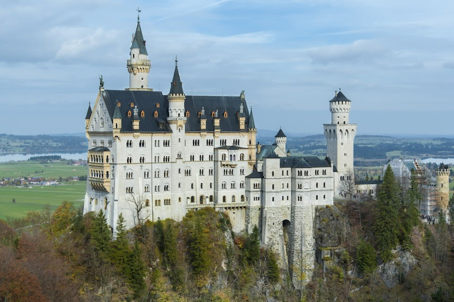 Neuschwanstein  \Castle by Keith Reling - Buildings & Architecture Public & Historical ( castle, germany, neuschwanstein castle )