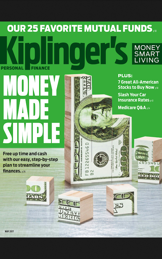 Kiplinger's Personal Finance- screenshot