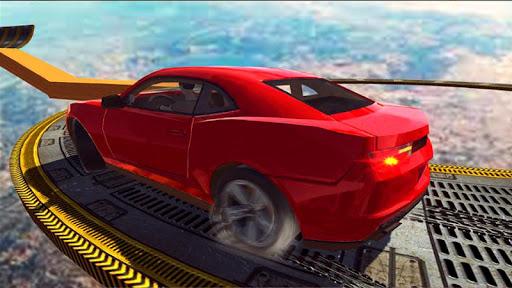 Extreme Impossible Car Racing Stunts Simulator  captures d'u00e9cran 2