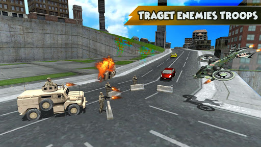 Drone Attack Shadow: Stealth Gunship Strike War game (apk) free download for Android/PC/Windows screenshot